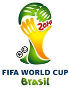 Logo officiel de la Coupe du monde 2014