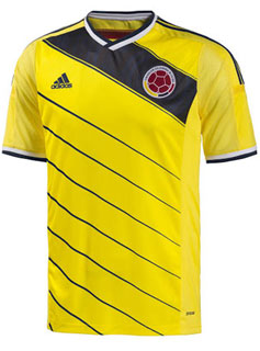 Maillot Colombie Mondial-2014