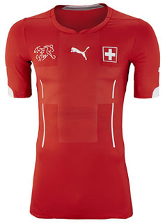 Maillot Suisse Mondial-2014