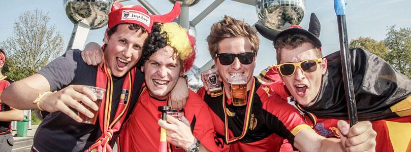 Belgique fans