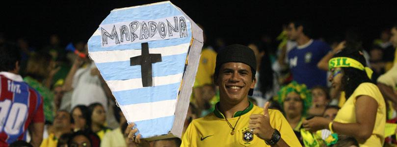 Brésil fans