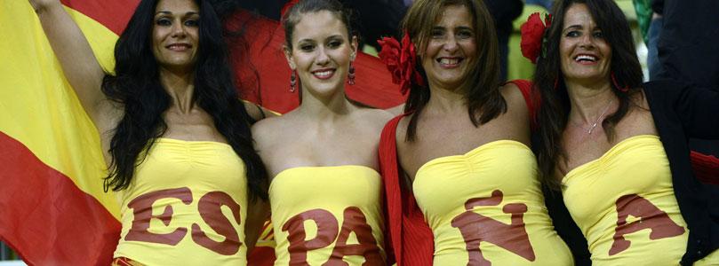 Espagne fans