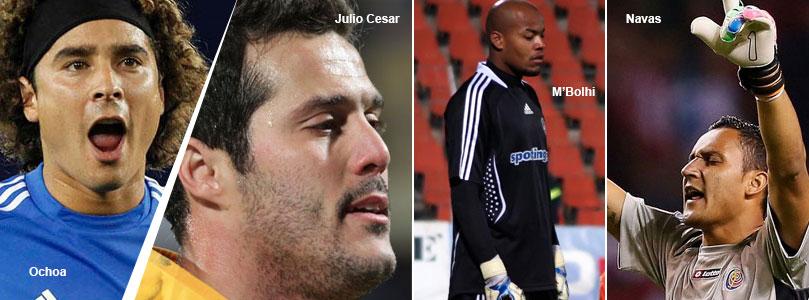 Ochoa - Julio Cesar - MBolhi - Navas