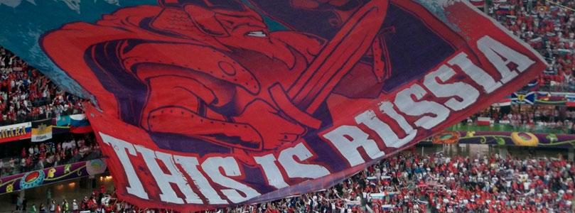 Russie fans